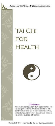 Tai Chi for Health brochure